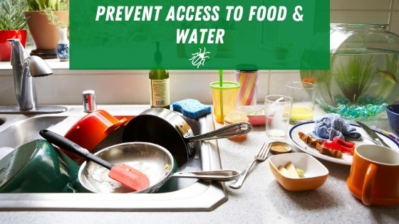 Prevent access to food and water